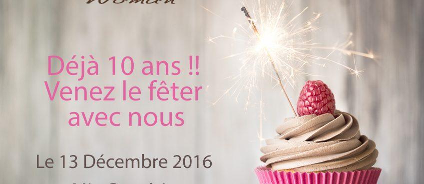 Business Woman fête ses 10 ans mardi 13 décembre