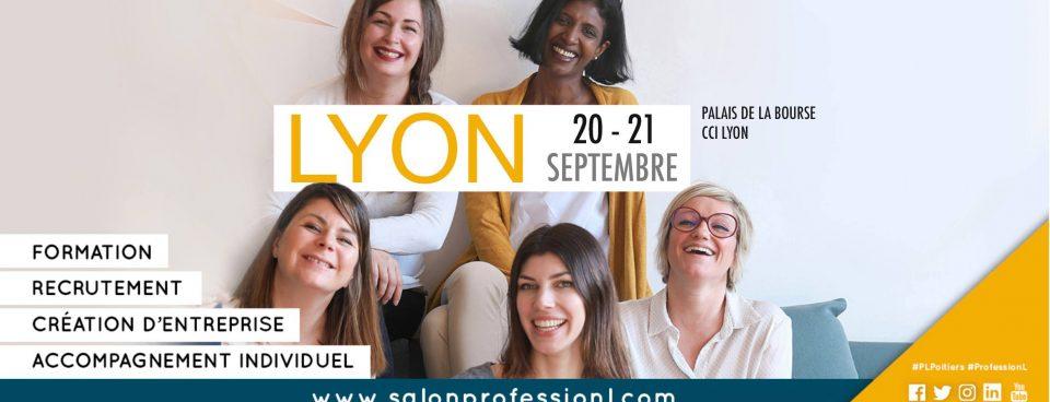 Salon Profession'L salon de la reconversion professionnelle des femmes le jeudi 20 et 21 septembre
